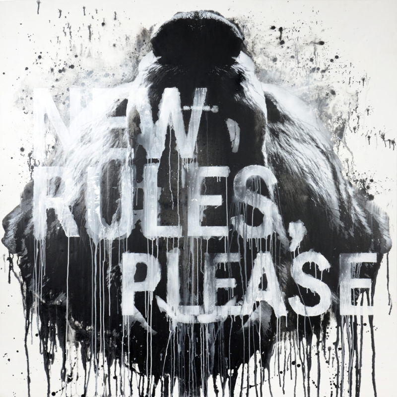 Jussi TwoSeven: All Is One, R-O-A-R no.1 New Rules Please 2019